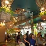 Зал в ресторане Грабли