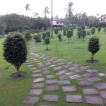 Pathway towards the Rooms