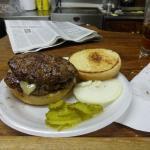 My double burger