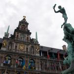 City Hall and sculpture