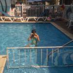 Fun at pool time