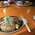 Singapore street wok