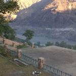 View from the verandah in front of the room...River Indus