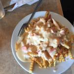 Lobster Sauced Poutine
