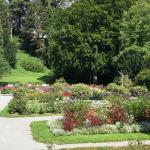 the gardens outside