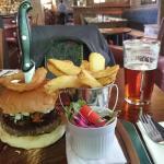 Tower Burger -.£7.50.
