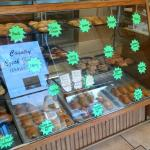 Czech bakery across from hotel