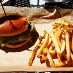 Hot & Smokin' Hamburger