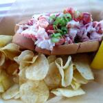 Small lobster roll.  Big price.