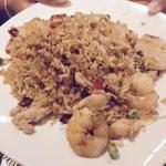 Vietnam Fried Rice; chicken, shrimp, BBQ pork, fish sauce