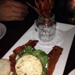 Bacon Rocket appetizer was so fun and tasty!!