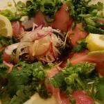 Humongous cuts of fish! Omg