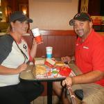 Eating McD's after a Big Dawg Win...Big Mac Style