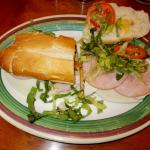 Ham-Canadian Bacon sandwich-9-19-15