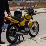 Honda CG 125 con marchas