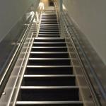 Treppe, perfekt zum Halsbrechen