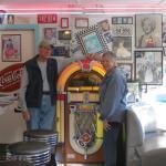 Windwalker & MJ at the 59er Diner
