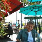 Pleasant patio dining
