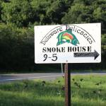 Delaware Delicacies Smoke House - Hours are 9 - 5pm