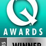 Irish Q Awards Winner 2015