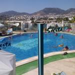 View from top pool