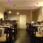 Salle du restaurant l'Ardoise