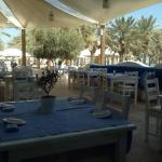 The Greek experience in Doha ! Real Greek food cooked by Greek chef !! Service is very good . Yo