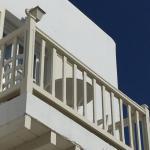 klassischer Balkon der Anlage