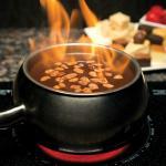 Flaming Turtle Chocolate Fondue