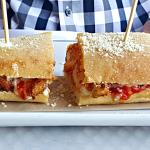chicken parm panini 7.00