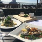 Wonderful Mackerel and Hake dishes.