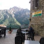 La vue sur les montagnes