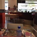 Thali Restaurant, Zurich (Buffet Table)