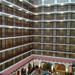 Atrium of the Embassy Suites Tulsa, OK