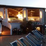 Sala ristorante sul mare