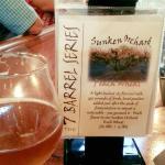 Beer cocktail at Mudhook