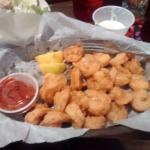 Shrimp basket, that I got a salad with.