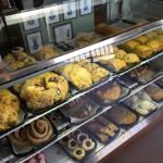 Morning bakery selections