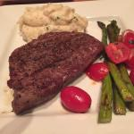 Steak with sides