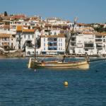 antigua embarcación de pesca en Cadaqués
