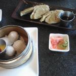 Oriental selections from the Brunch Tasting Menu