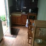 Kitchen/balcony door...