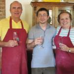 Cooking course at Maria's Cookery School in Italy