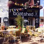 Boatshed front