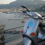 vista panoramica sul porto di LIpari