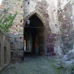 Entrata del castello di Lipari