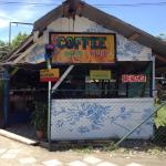 sweet rustic coffee shop/ surf cafe serves award-winning Bajareque coffee&delicious food and bak