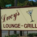 Lucy's across from the movie theater