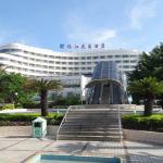Вид на отель и эскалатор