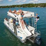 Boat Tours Miami - Double Deck Pontoon Boat with Slide!